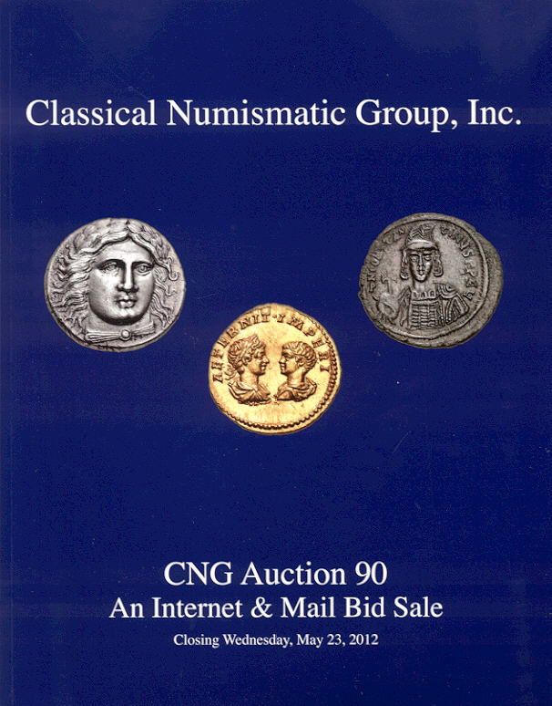 2012 AUCTION CATALOGUES CLASSICAL NUMISMATIC GROUP (CNG) - AUCTION 90 (2012) Druckfrisch