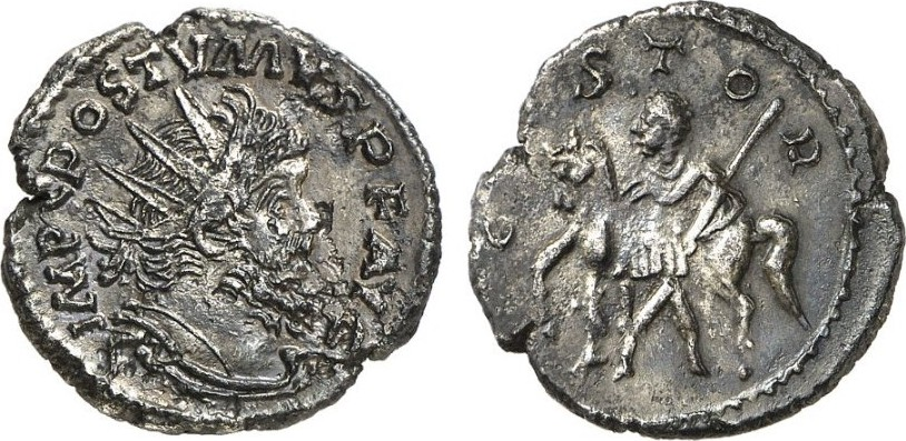 Antoninian ROMAN COINS - POSTUMUS, 260-269 Fast vorzüglich