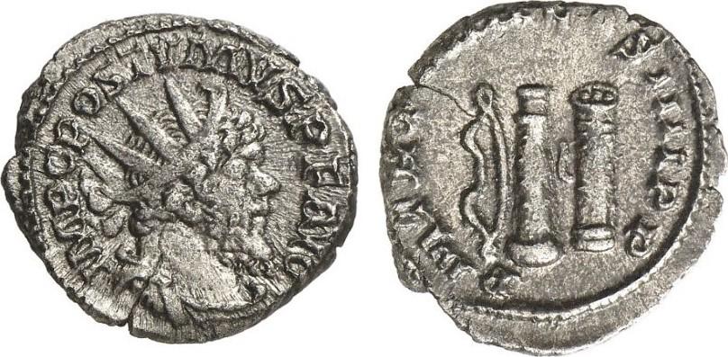 Antoninian ROMAN COINS - POSTUMUS, 260-269 Sehr schön+