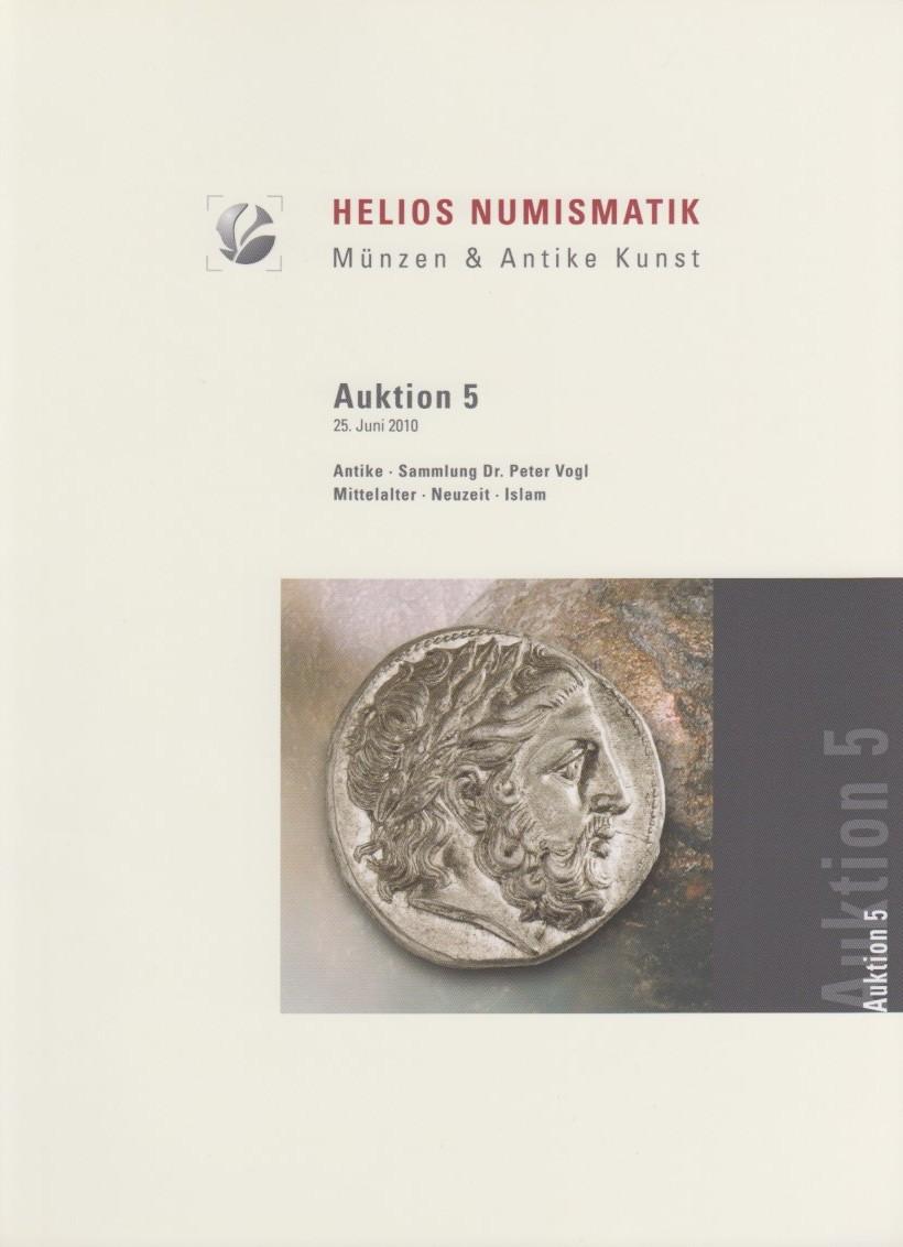 2010 AUCTION CATALOGUES - HELIOS - AUKTION 5 (2010) druckfrisch