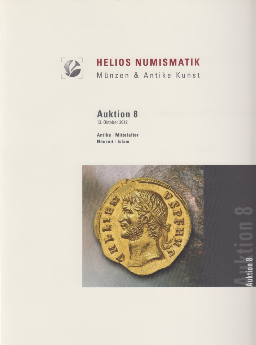 2012 AUCTION CATALOGUES - HELIOS - AUKTION 8 (2012) druckfrisch