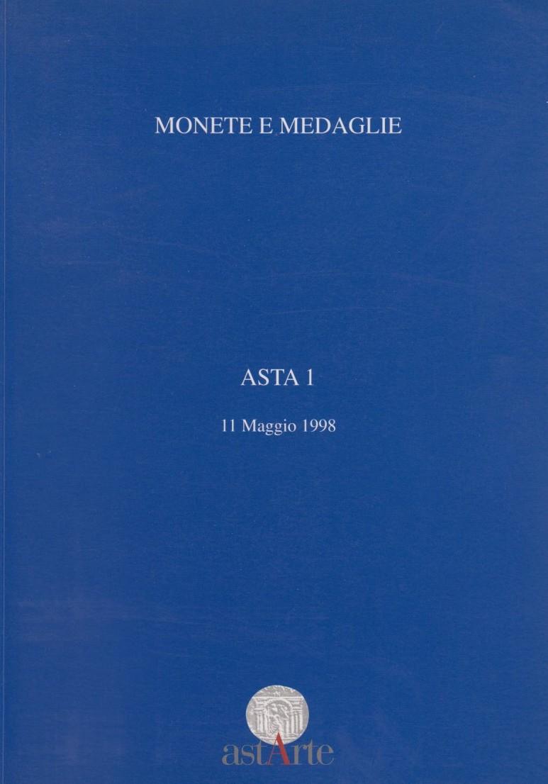 1998 AUCTION CATALOGUES - ASTARTE - ASTA I (1998) Druckfrisch