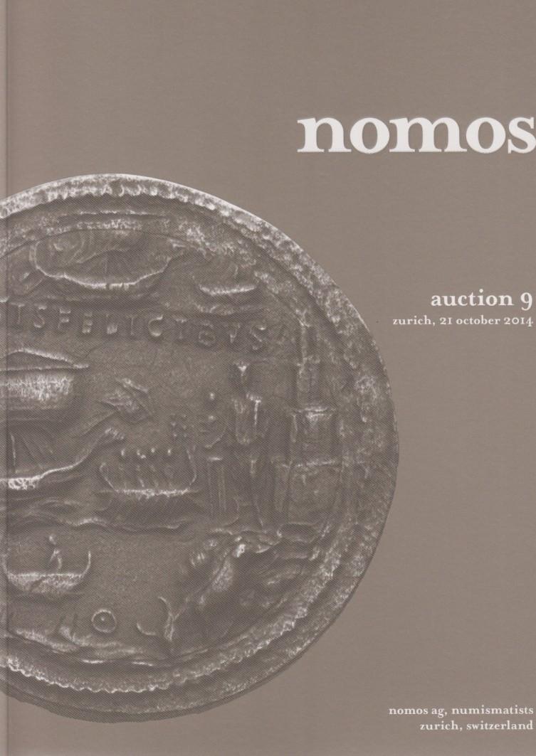 2014 ANCIENT COINS - NOMOS 9 (2014) - ANTIKE MÜNZEN Druckfrisch