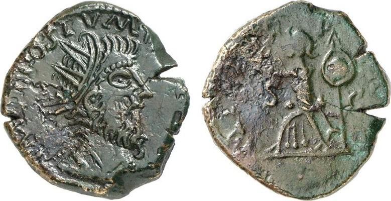 Doppelsesterz ROMAN COINS - POSTUMUS, 260-269 Fast vorzüglich/sehr schön