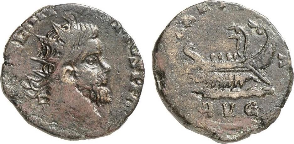 Doppelsesterz ROMAN COINS - POSTUMUS, 260-269 Sehr schön