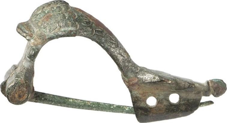 Bronze ANCIENT ART - DELPHINFIBEL