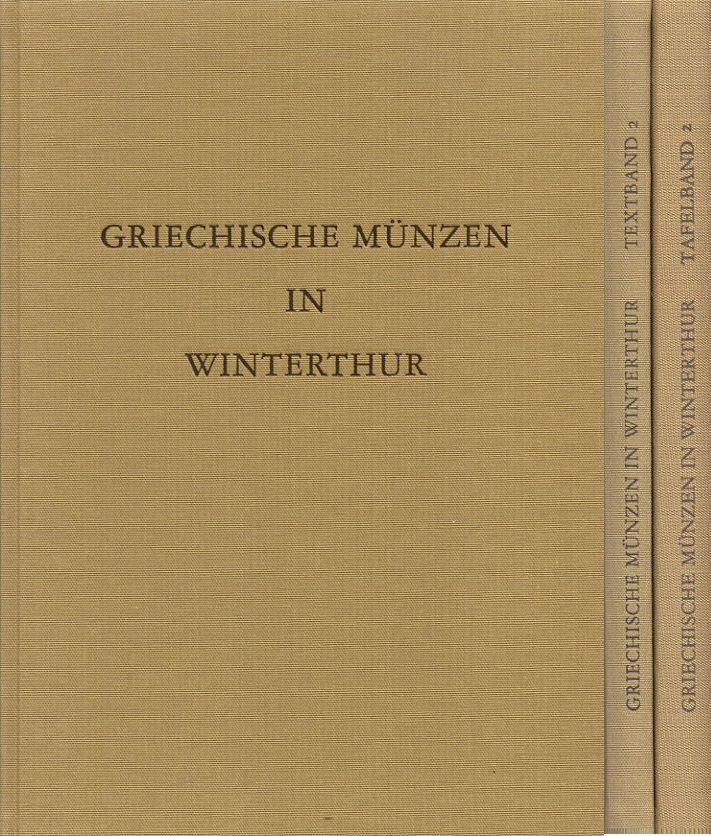 1997 ANCIENT COINS - BLOESCH - GRIECHISCHE MÜNZEN IN WINTERTHUR II NEU