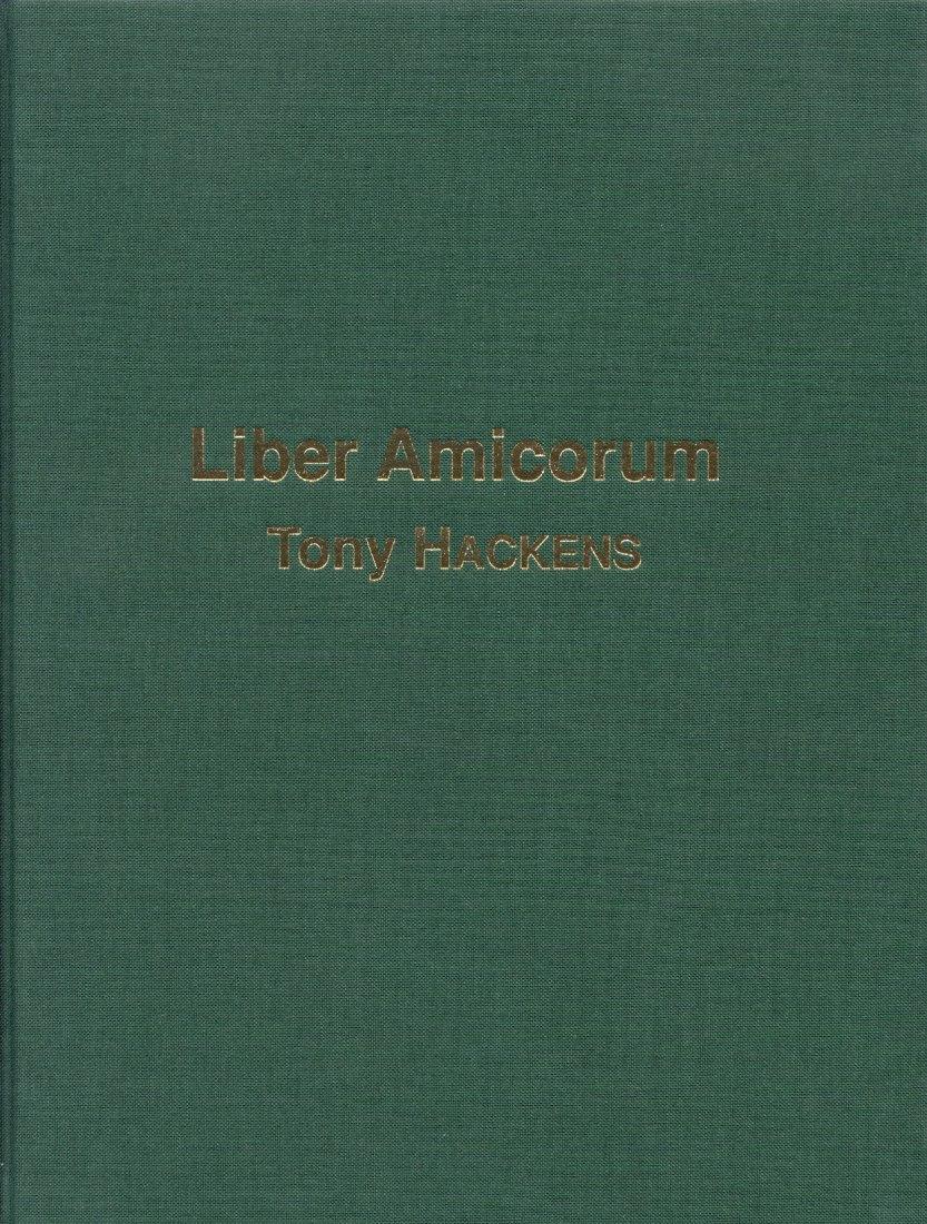 2007 ANCIENT COINS LIBER AMICORUM TONY HACKENS NEU