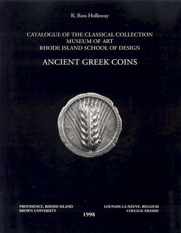 1998 ANCIENT COINS R ROSS HOLLOWAY - ANCIENT GREEK COINS NEU