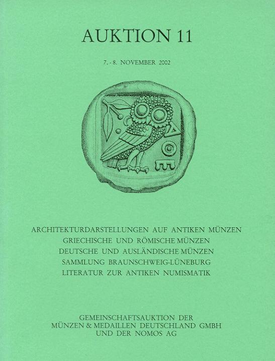 2002 ANCIENT COINS - SAMMLUNG ARCHITEKTURDARSTELLUNGEN AUF ANTIKEN MÜNZEN NEU