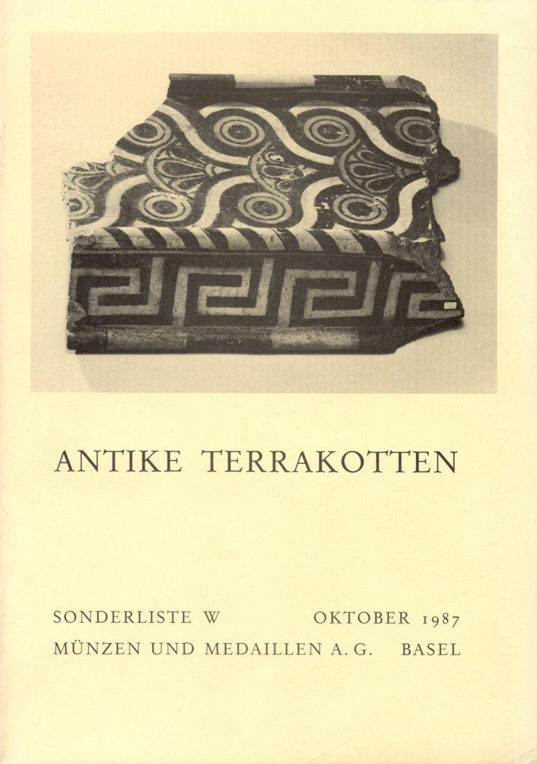 1987 ANCIENT ART MMAG BASEL - ANTIKE TERRAKOTTEN neuwertig