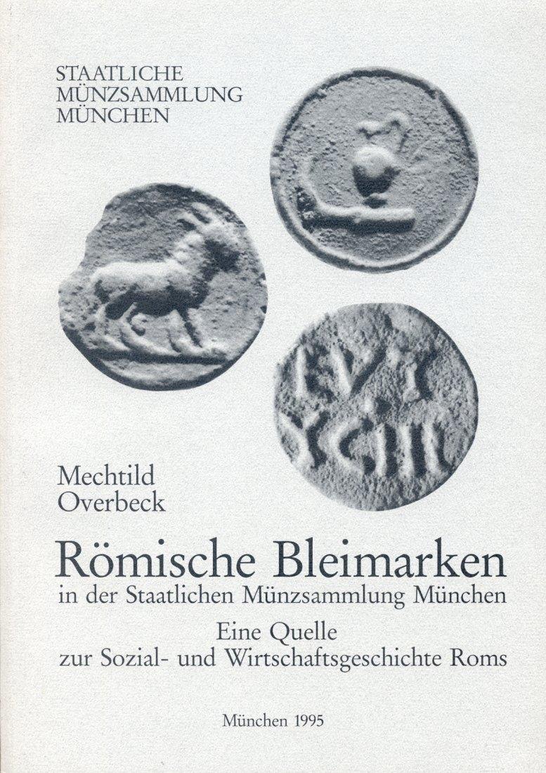 1995 ANCIENT COINS MECHTILD OVERBECK - RÖMISCHE BLEIMARKEN NEU