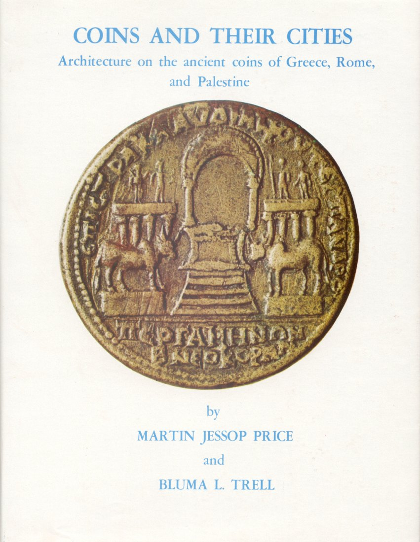 1977 ANCIENT COINS - PRICE / TRELL, COINS AND THEIR CITIES NEU