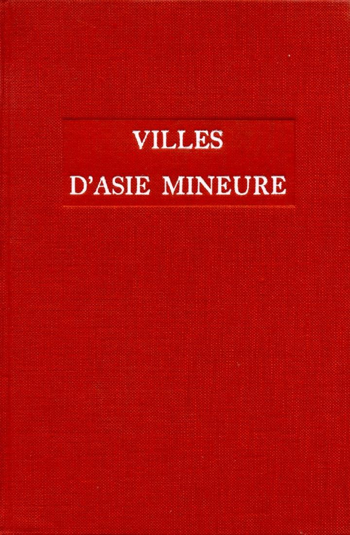 1962 ANCIENT COINS - LOUIS ROBERT - VILLES D'ASIE MINEURE NEU