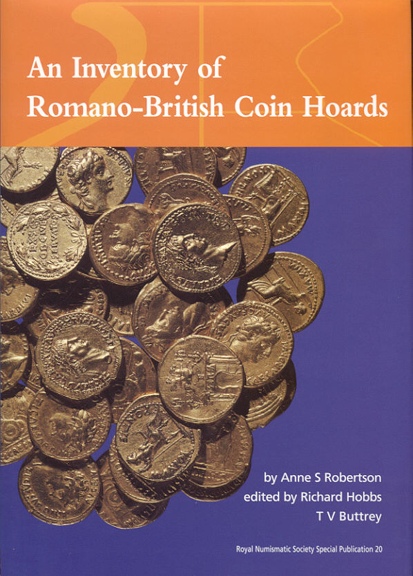 2001 ANCIENT COINS - ROBERTSON - An Inventory of Romano-British Coin Hoards NEU