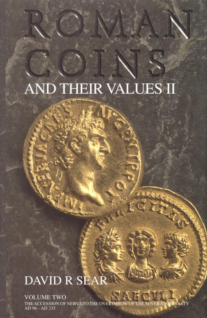 2002 ANCIENT COINS - SEAR - ROMAN COINS & THEIR VALUES. VOL. II NEU