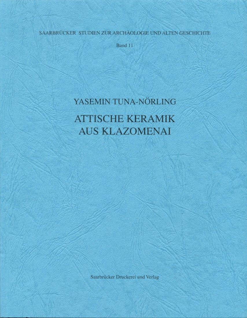 1996 ANCIENT ART - ATTISCHE KERAMIK AUS KLAZOMENAI NEU