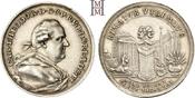 Silbermedaille 1778 Pfalz, Kurlinie Karl Theodor 1742-1799. Sehr selten, leichte Tönung, vorzüglich