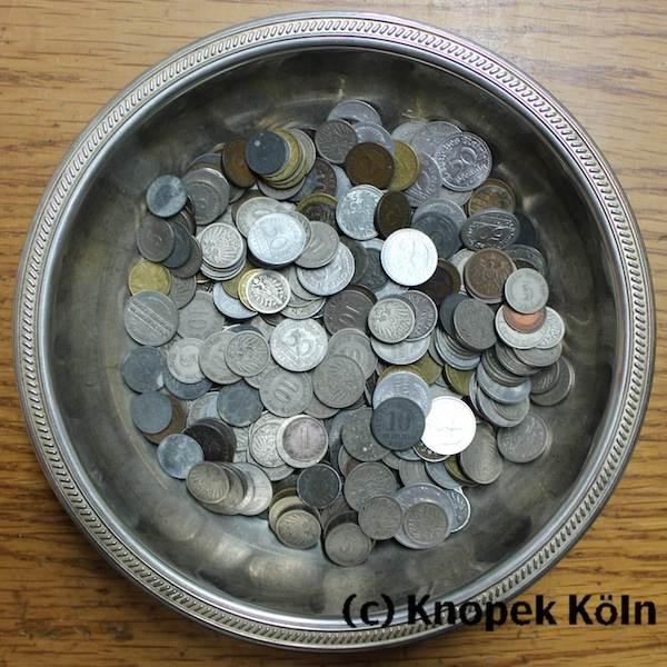Lot 400 Münzen 1871 1945 Kaiserreich Drittes Reich Konvolut Von