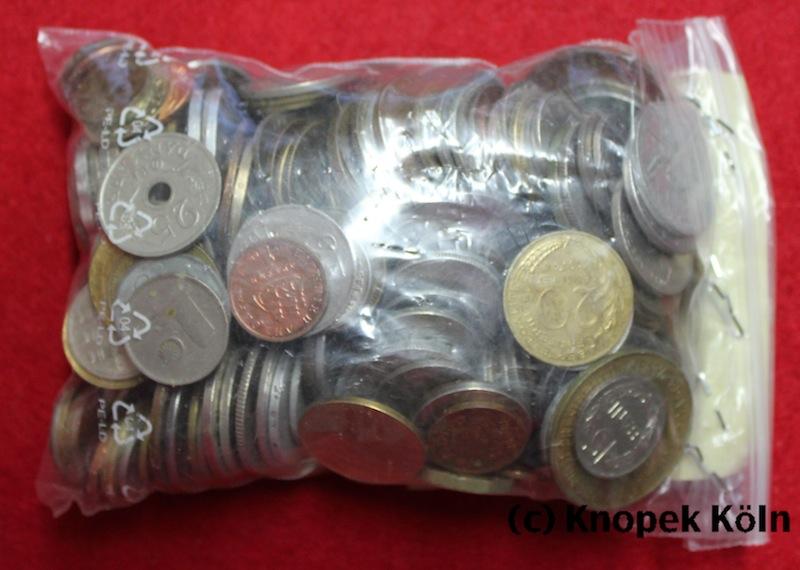 Diverse Kiloware Welt Gemischt übersee Europa 20 Kg Münzen Aus Aller