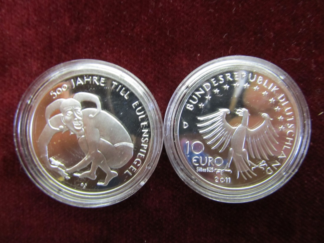 10 10 Euro Gedenkprägung 2011 Brd Deutschland Brd 10 Euro 2011 Pp