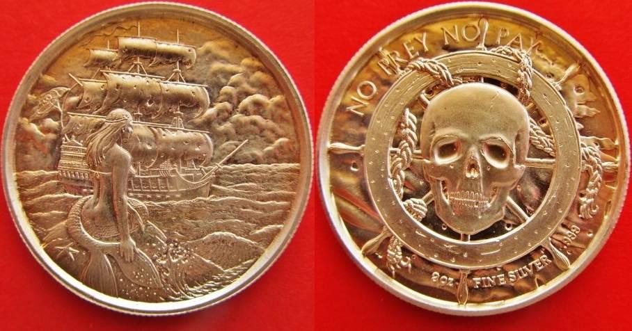 2 Unzen Silber Medaille Usa Medaille Im Gewicht 2 Silberunzen 622g