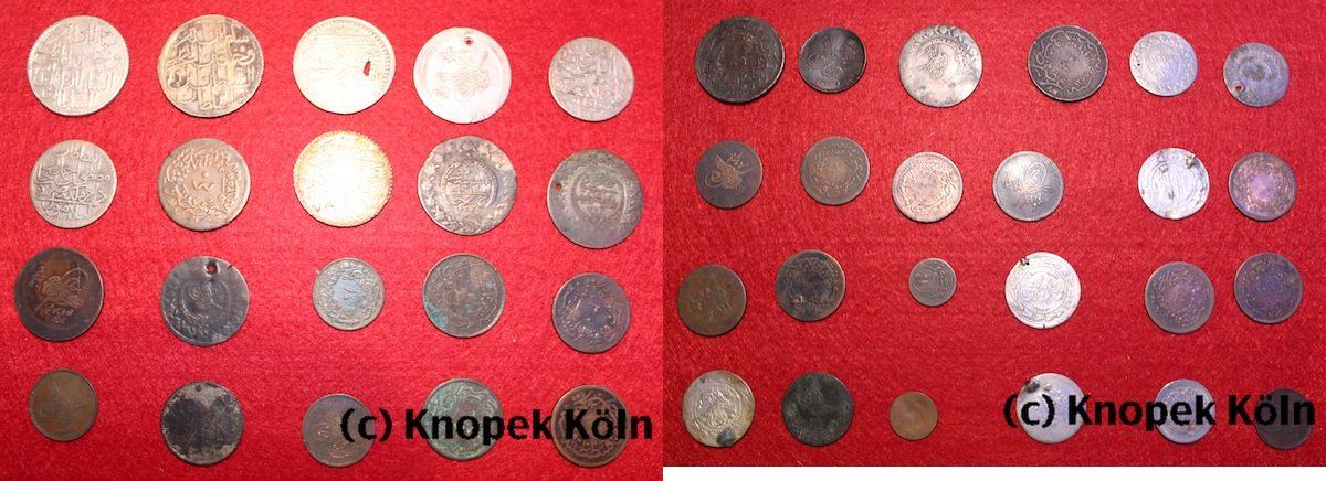 Lot 107 Münzen 19 20 Jhdt Osmanisches Reich Kleine Sammlung