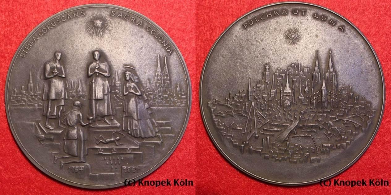 Medaille Von Hillebrand 1964 Brdköln Dreikönigsmedaille Sparkasse