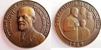 Frankreich / Medicina in Nummis gr.Bronzemedaille von P. Lenoir - auf den Psychiater Docteur Edgar Berillon - Hypnotiseur - RAR