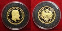 Württemberg / Deutsches Reich 20 Mark Gold Goldmark König Wilhelm II. 1913 F Nachprägung des seltenen Jahrgangs 2005