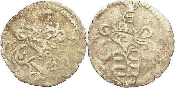 Dreier 1537 Sachsen-Kurfürstentum Johann Friedrich und Georg 1534-1539. Belagreste, sehr schön