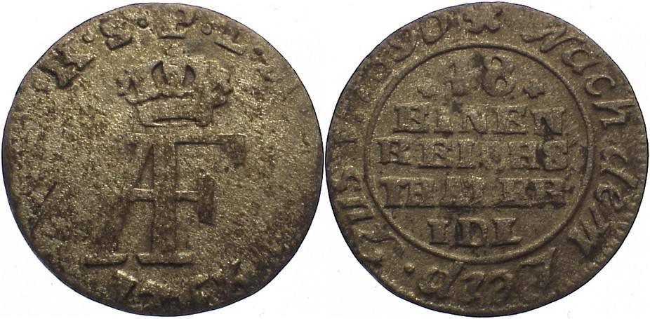 1/48 Taler 1763 Pommern-unter schwedischer Besetzung Adolph Friedrich 1751-1771. rauher Schrötling, sehr schön