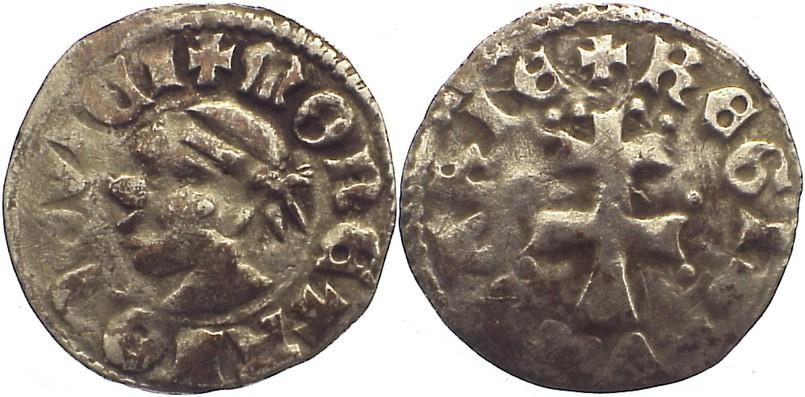 Denar 1342-1382 Ungarn Ludwig I. 1342-1382. sehr schön -