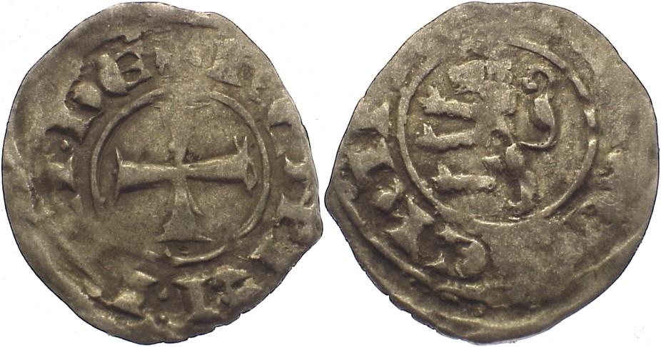 Denar 1285-1306 Zypern Henry II., 1.Regierung 1285-1306. fast sehr schön