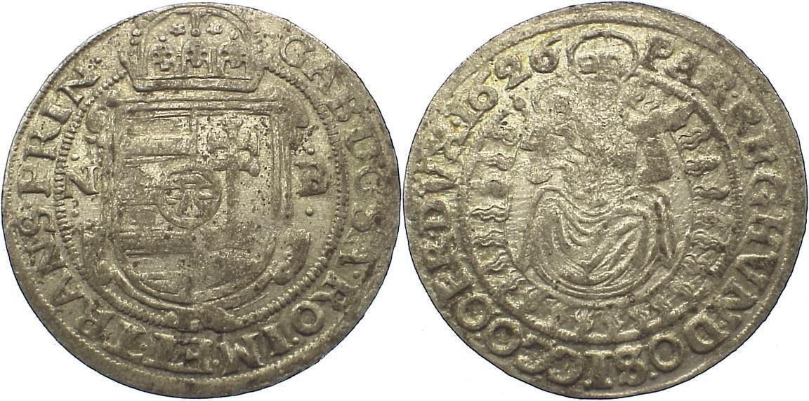 Breiter Groschen 1626 NB Siebenbürgen Gabriel Bethlen 1613-1629. sehr schön