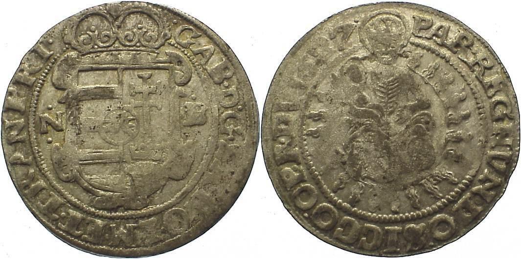 Breiter Groschen 1627 NB Siebenbürgen Gabriel Bethlen 1613-1629. sehr schön