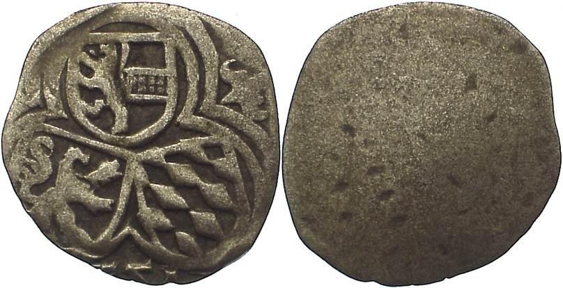 Zweier 1551 Salzburg, Erzbistum Ernst von Bayern 1540-1554. sehr schön