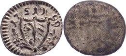 Einseitiger Pfennig 1799 Nürnberg, Stadt fast vorzüglich