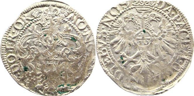 5 Stüber 1599-1625 Ostfriesland Enno III. 1599-1625. Zainende, kl. Belagreste, sehr schön +