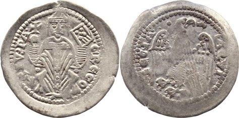 Denaro 1251-1269 Italien-Aquileia, Patriarchat Gregorio di Montelongo 1251-1269. kl. Einriß, sehr schön