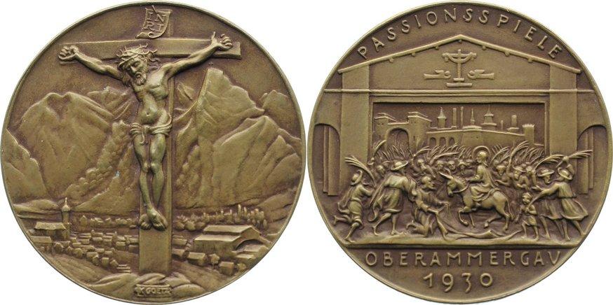 Bronzemedaille 1930 Münchner Medailleure Goetz, Karl vorzüglich