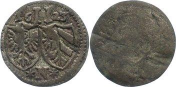 2 Pfennig 1623 Nürnberg, Stadt kl. Stempelfehler, sehr schön
