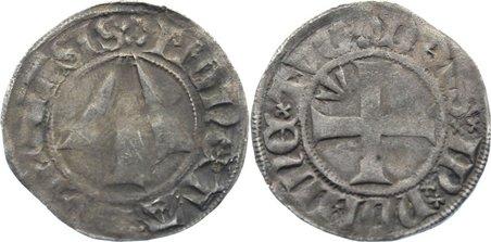 Witten vor Begründung des Münzvereins 13 1379 Pommern-Stralsund, Stadt fast sehr schön