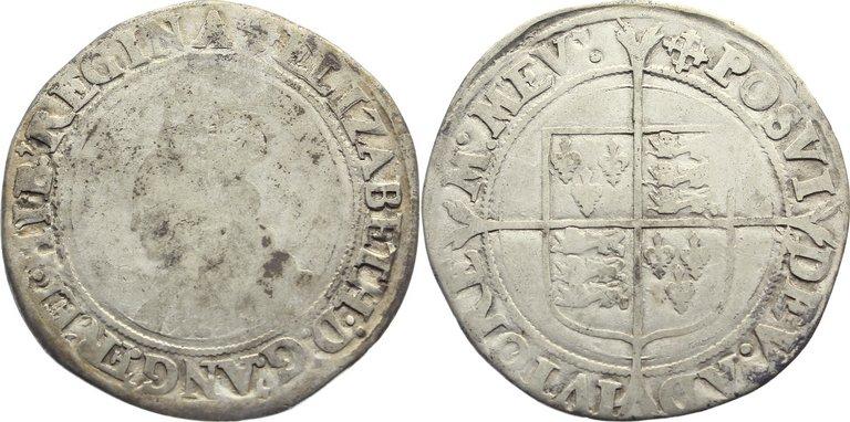 Shilling 1558-1603 Großbritannien Elisabeth I. 1558-1603. gering erhalten / schön +