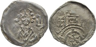 1321-1349 Osnabrück, Bistum Gottfried von Arnsberg 1321-1349. selten, sehr schön