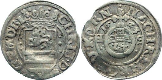 1/24 Taler 1623 HS Braunschweig-Lüneburg-Celle Christian von Minden 1611-1633. leicht gewellt, sehr schön