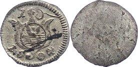 Einseitiger Pfennig 1804 Löwenstein-Wertheim-Rochefort Dominik Constantin 1789-1806. Fleck, sehr schön - vorzüglich