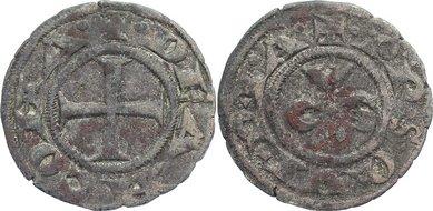 Denar 1200-1300 Italien-Ancona Republik 1200-1300. fast sehr schön