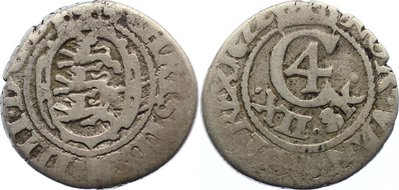 12 Skilling 1622 Dänemark Christian IV. 1588-1648. schön - sehr schön