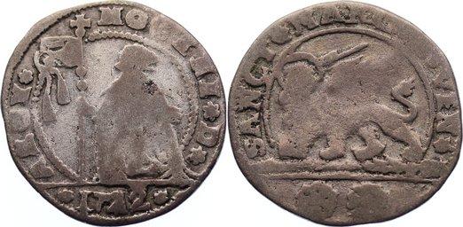 15 Soldi 1722 Italien-Venedig Alvise III. Mocenigo 1722-1732. schön